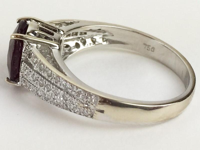 Lady's Ruby & Diamond Ring .40 Carat T.W. 18K