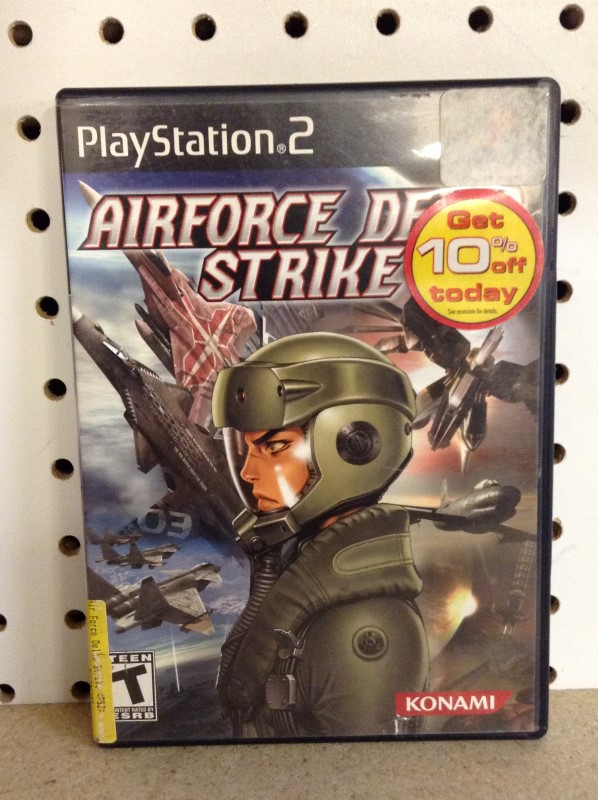 SONY Sony PlayStation 2 Game AIRFORCE DELTA STRIKE