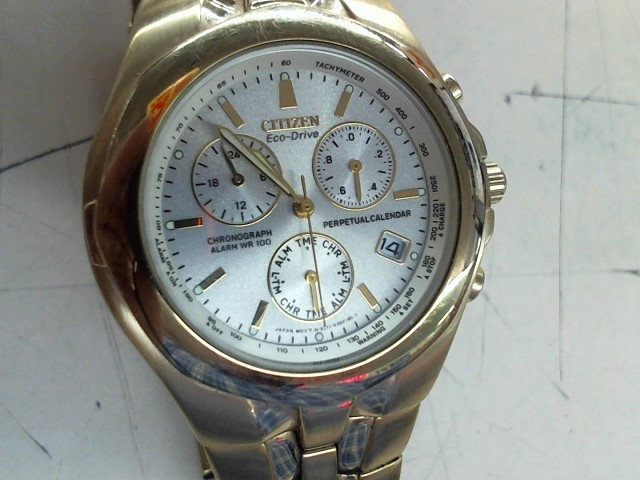 CITIZEN Gent's Wristwatch ECO DRIVE CHRONOGRAPH WR100