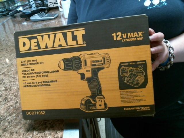 DEWALT Cordless Drill DCD710S2