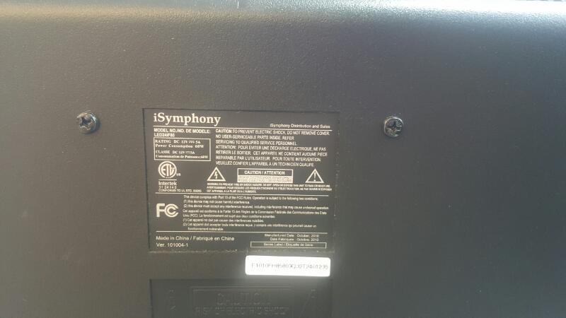 ISYMPHONY Flat Panel Television LED24IF80