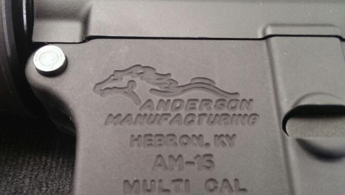 ANDERSON MANUFACTURING Rifle MAUFACTURING AM-15