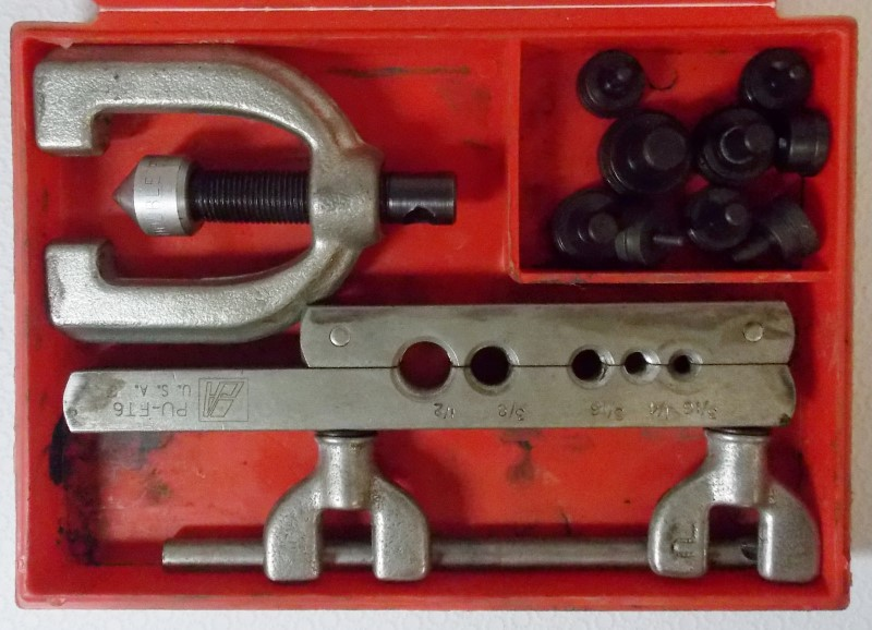 DOUBLE FLARING TOOL KIT PU-FT-6