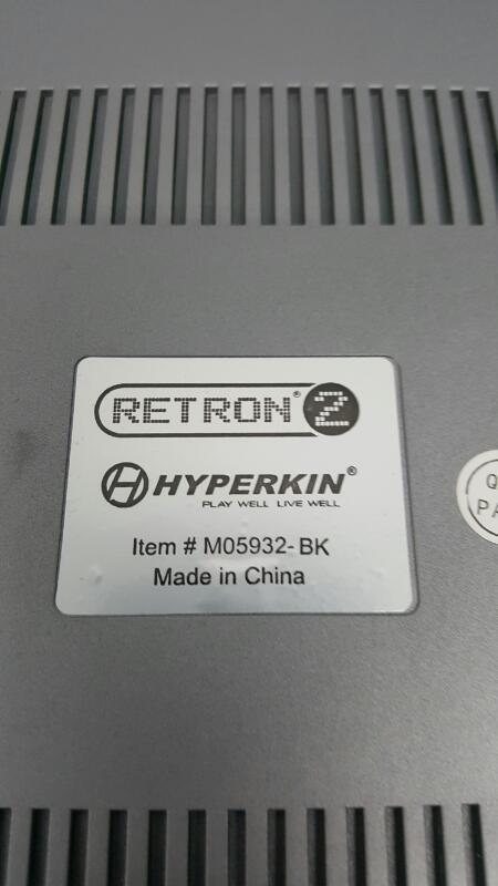 Hyperkin Retron 2 (M05932-BK) Black & Red Game console - NES & SNES