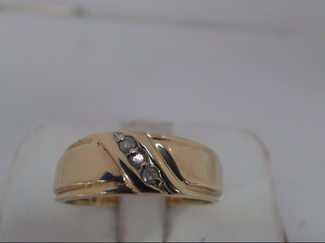 Gent's Gold Wedding Band 10K Yellow Gold 3g