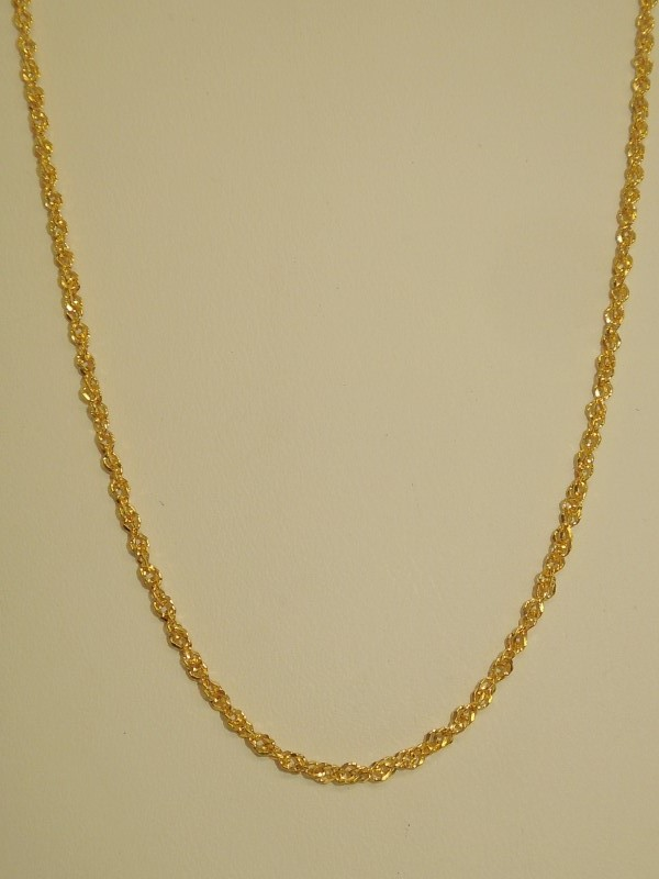 Gold Chain 14K Yellow Gold 1.4g