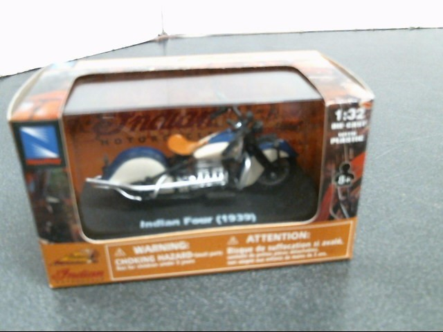 INDIAN MOTORCYCLE Toy Vehicle INDIAN FOUR 1939
