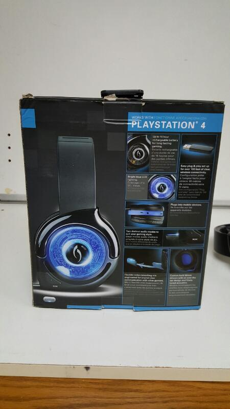 PlayStation 4 After Glow Kral Wireless Headset PDP 051-004
