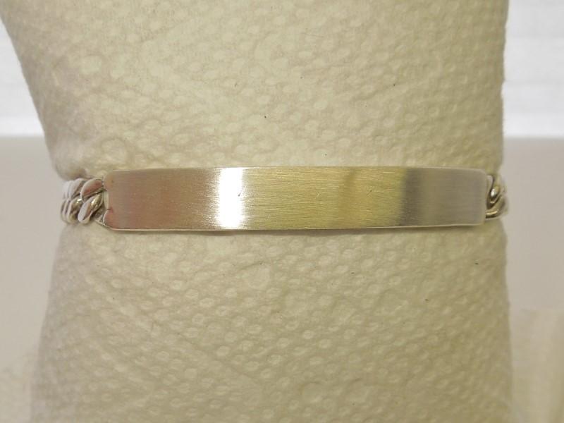 Silver Fashion Bracelet 925 Silver 19.6g