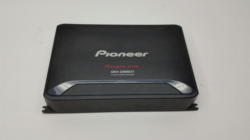 Pioneer Electronics Car Amplifier GM-D9601
