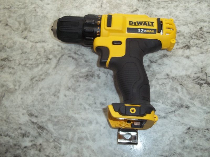 "DEWALT DCD710 12V MAX LITHIUM 3/8"" DRILL DRIVER **BARE TOOL ONLY**"