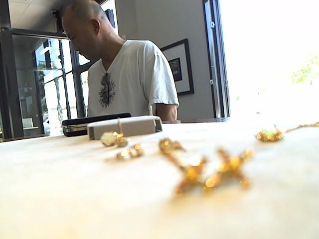 Gold Earrings 10K Yellow Gold 1.3g