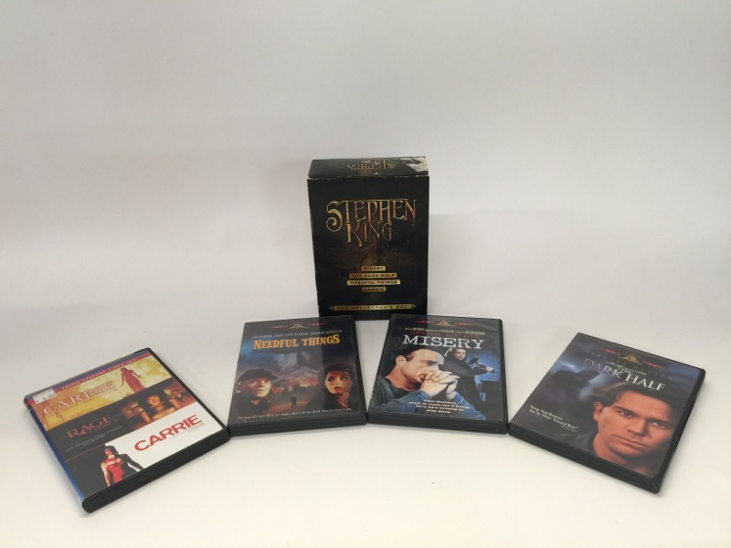 DVD MOVIE DVD STEPHEN KING DVD COLLECTORS SET