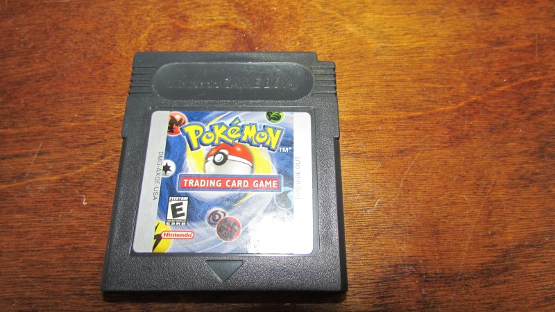 GAMEBOY POKEMON TRADING CARD GAME