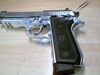 TAURUS Pistol PT-100 STAINLESS STEEL