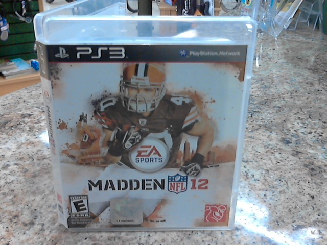 EA-ELECTRONIC ARTS Sony PlayStation 3 Game MADDEN 12