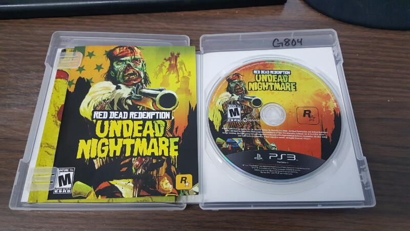 SONY Sony PlayStation 3 Game RED DEAD REDEMPTION UNDEAD NIGHTMARE