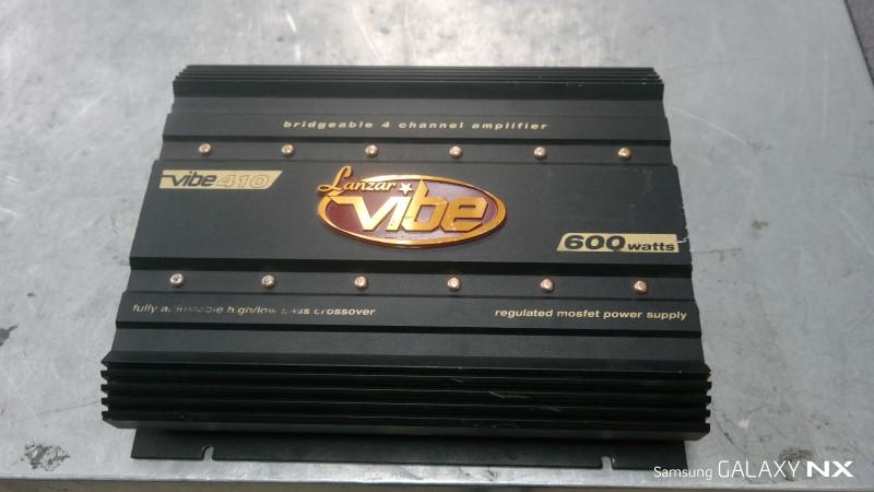 LANZAR CAR AUDIO Car Amplifier VIBE410