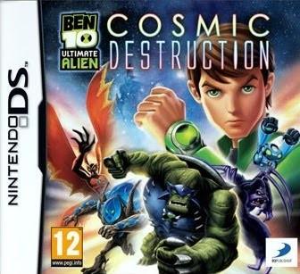 Nintendo DS Game BEN 10 ULTIMATE ALIEN COSMIC DESTRUCTION