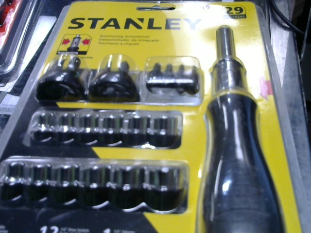 STANLEY Screwdriver RATCHET SCREWDRIVER