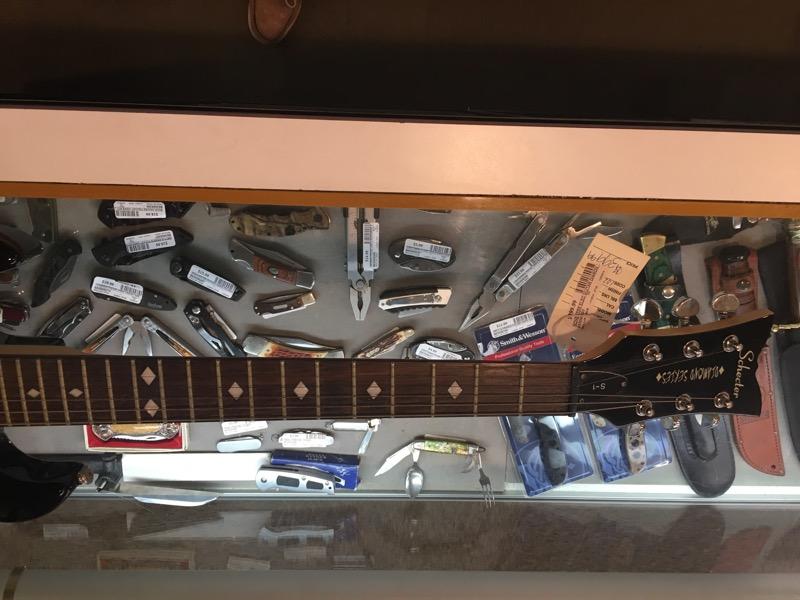 SCHECTER Electric Guitar DIAMOND SERIES