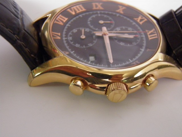 Bulova Mens Watch (C4691191) Leatherband Rose Gold