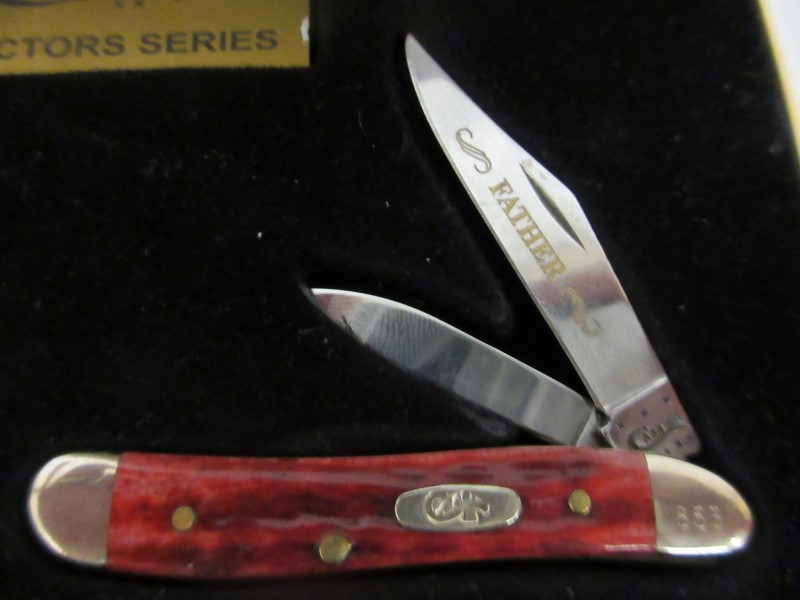 CASE KNIFE Pocket Knife Father & Son Collectors Edition