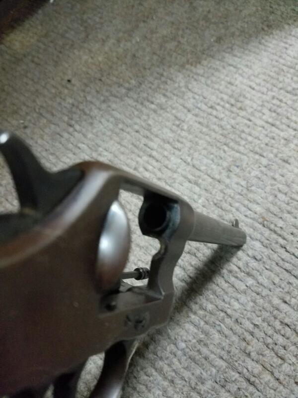 COLT Revolver DA 45