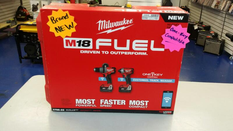 MILWAUKEE CORDLESS DRILL M18 FUEL 2796-22