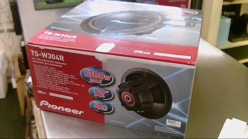 PIONEER ELECTRONICS Car Speakers/Speaker System TS-W304R