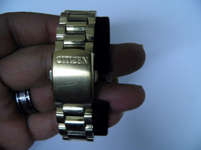 CITIZEN Gent's Wristwatch ECO DRIVE GN4S9