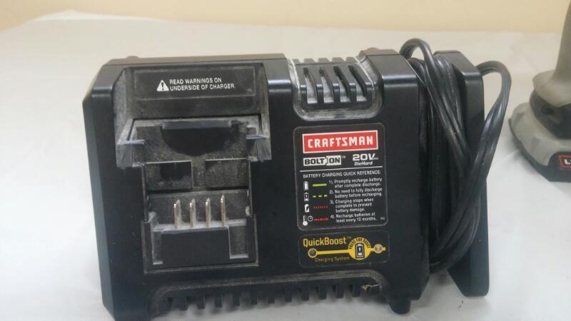 "CRAFTSMAN Cordless Drill BOLT-ON 20-VOLT MAX CORDLESS 3/8"" DRILL/DRIVER"