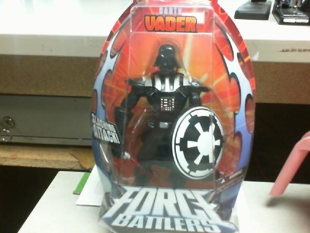 2005 STAR WARS FORCE BATTLERS DARTH VADER