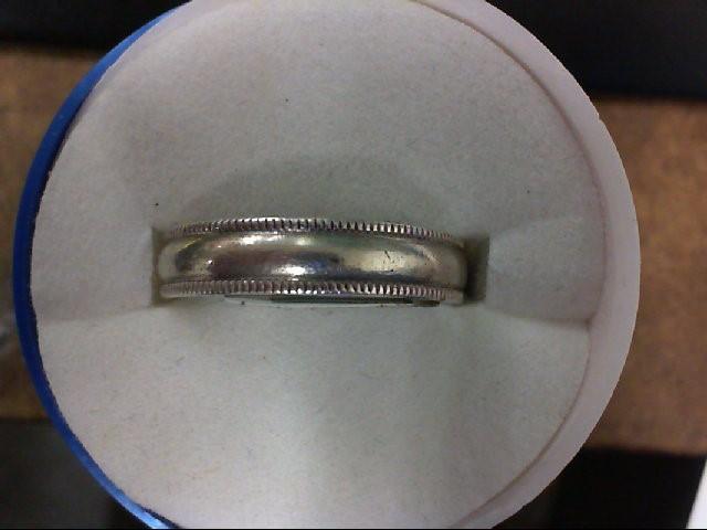 Lady's Silver Wedding Band 925 Silver 5.3g
