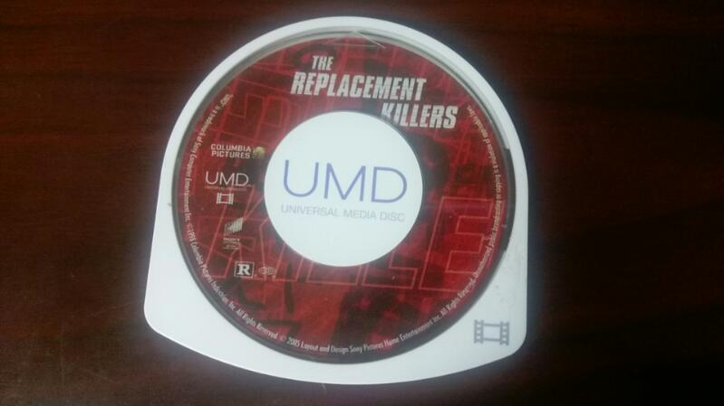 THE REPLACEMENT KILLERS SONY PSP VIDEO RATED R