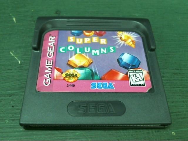 SEGA Sega Game SUPER COLUMNS