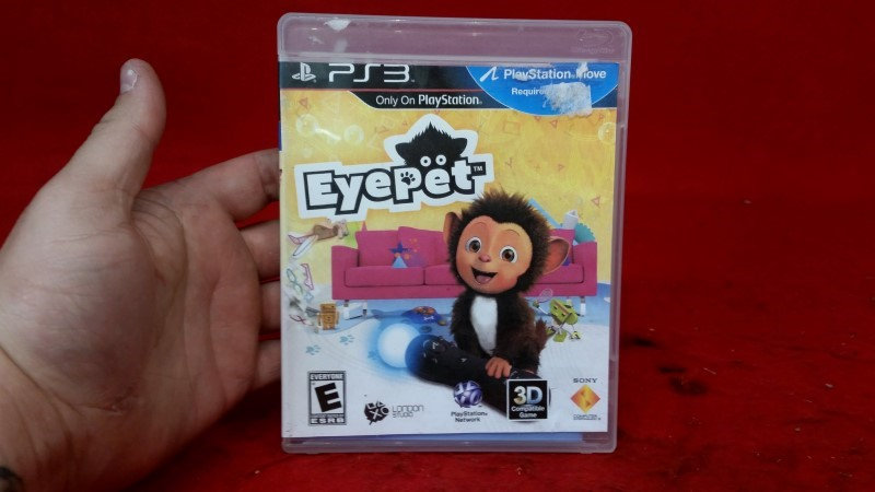 EyePet: Your Virtual Pet (Sony Playstation 3, 2010)