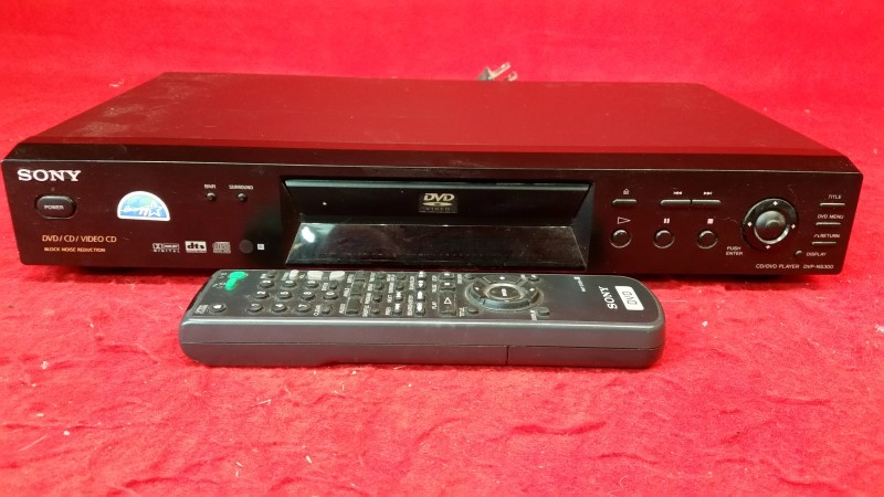 Sony DVP-NS300 Component DTS Digital Video CD/DVD Player
