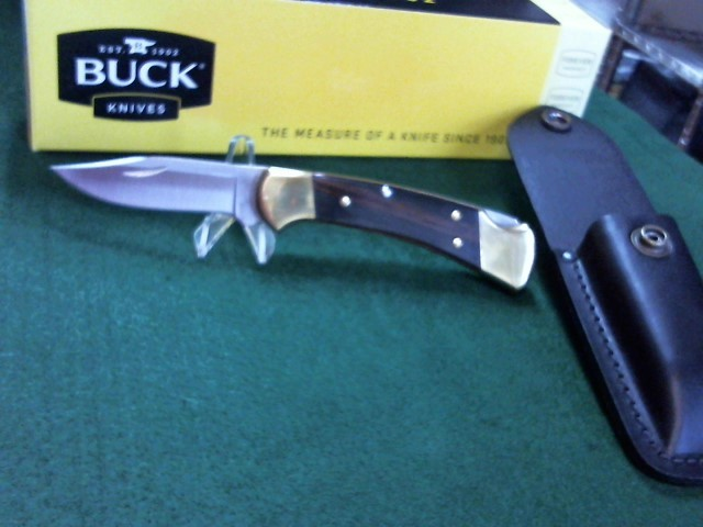 BUCK KNIVES Pocket Knife Ranger 0112BRS-B