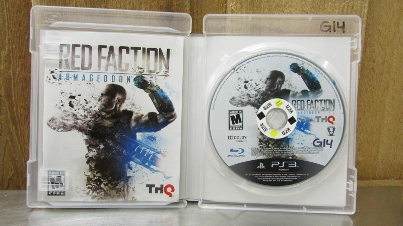 SONY Sony PlayStation 3 Game RED FACTION: ARMAGEDDON