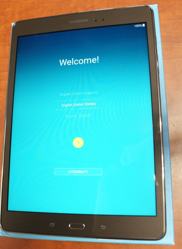 SAMSUNG Tablet GALAXY TAB SM-T550