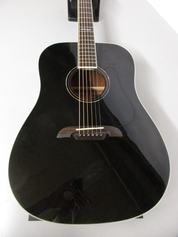ALVAREZ AD60 BK ACOUSTIC GUITAR, BLACK