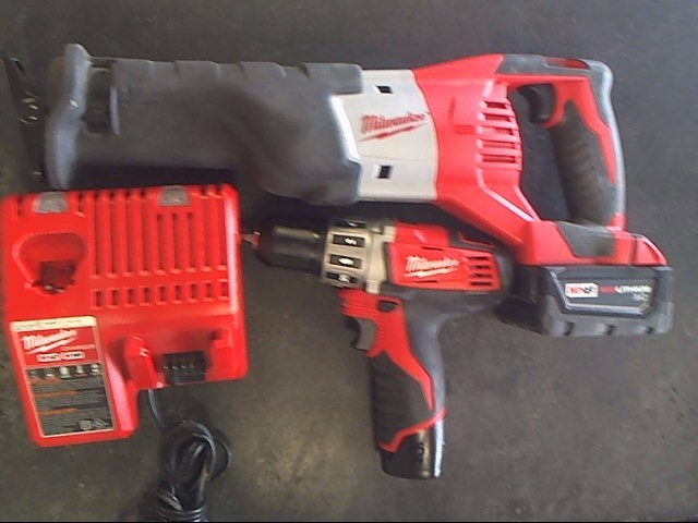 MILWAUKEE Combination Tool Set M18 COMBO SET