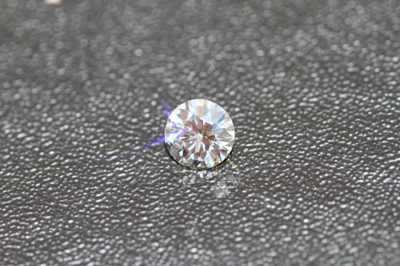 GIA Certified 2.03ct Natural Diamond K in color, SI1 in Clarity