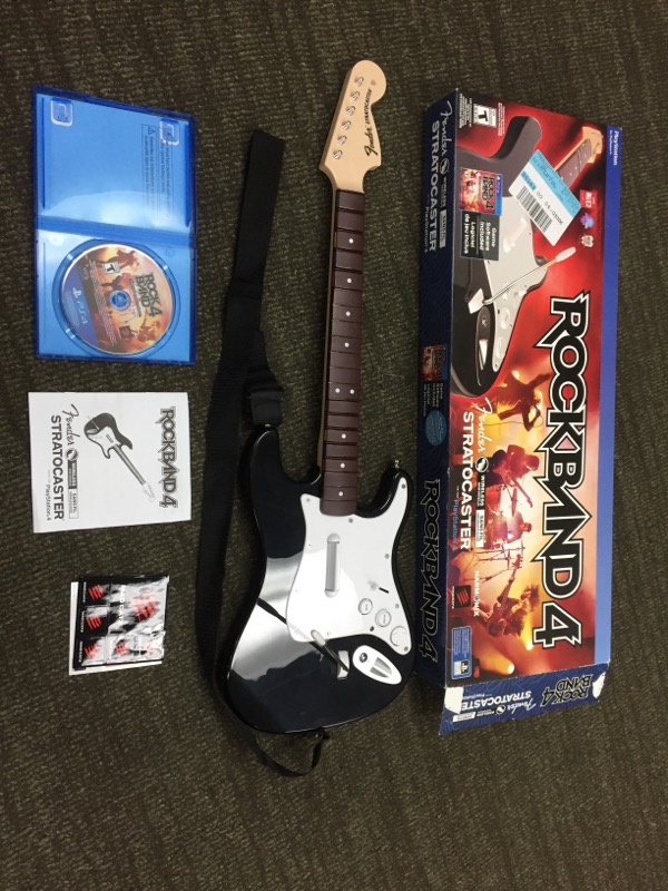 SONY Sony PlayStation 4 Game ROCK BAND 4 FENDER STRATOCASTER