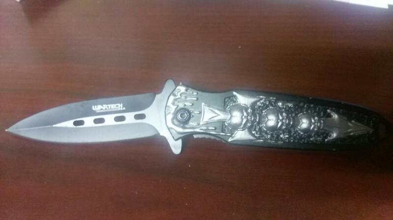 WARTECH USA FOLDING POCKET KNIFE