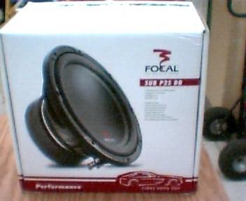 FOCAL Car Speakers/Speaker System SUB P25DB