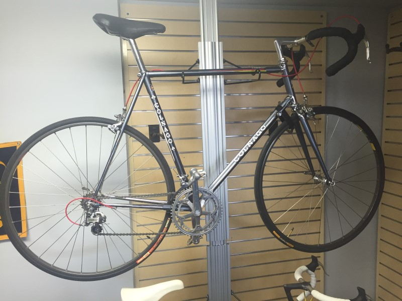 COLNAGO MASTER PIU Restored Dura Ace 61cm Chrome Lugs Vintage Steel