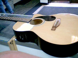 FENDER Electric-Acoustic Guitar FA-135CE