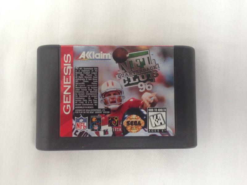 NFL Quarterback Club 96 (Sega Genesis, 1995)